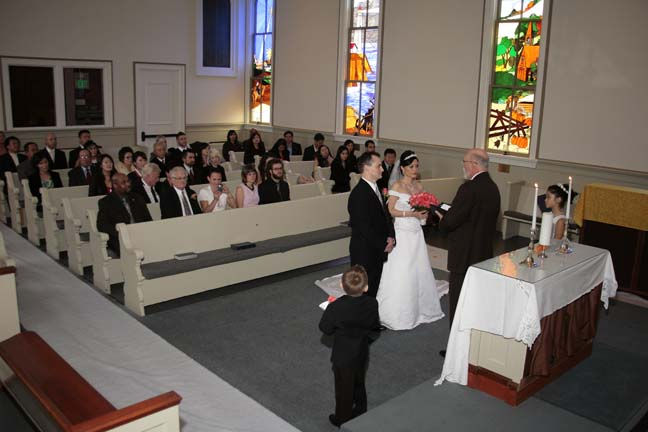 Interior Methodist Wedding Chapel