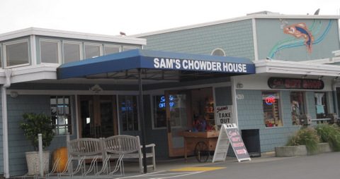Sams Chowder House Half Moon Bay