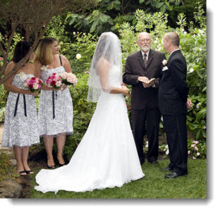 Hastings House Wedding Officiant and Coouple