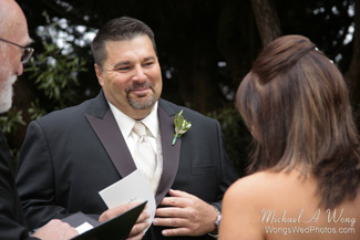 California Wedding Groom