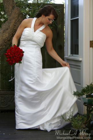 hastings House Wedding Bride