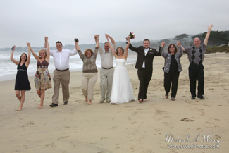 Northern California Beach Wedding