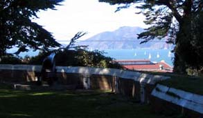 Photo of the Black Point San Francisco Marina.