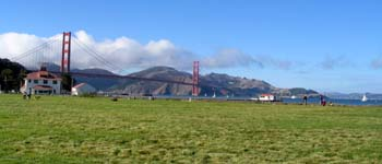 Photo of the Crissy Field Airfield.