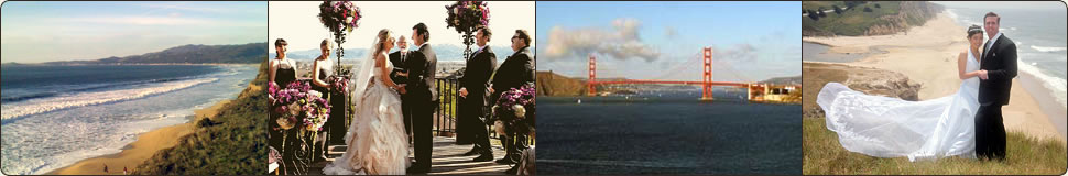 San Francisco area coastal wedding destinations