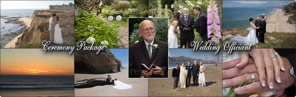 Ceremony Packages - Wedding Officiant