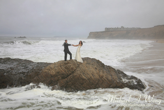 Half Moon Bay Beach Wedding