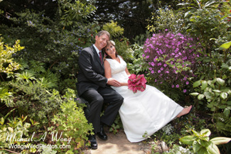 Hastings House Wedding Couple