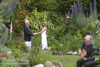 Hastings House Wedding Ceremony